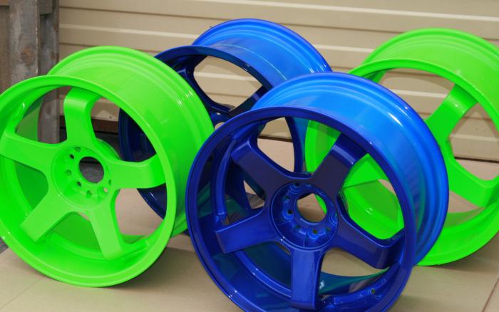 Бизнес-идея: Порошковая окраска дисков