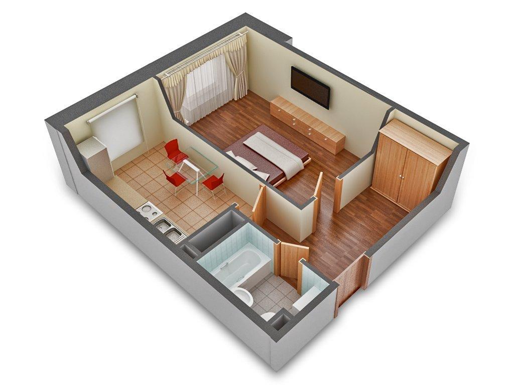 Wishlist.ru 1 комнатная личная квартира в москве.