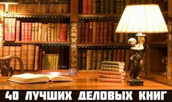 40 лучших деловых книг