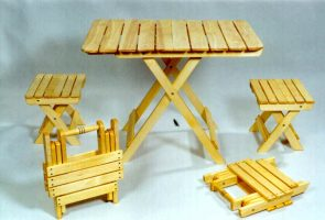 Бизнес идея: Изготовление и продажа складной мебели