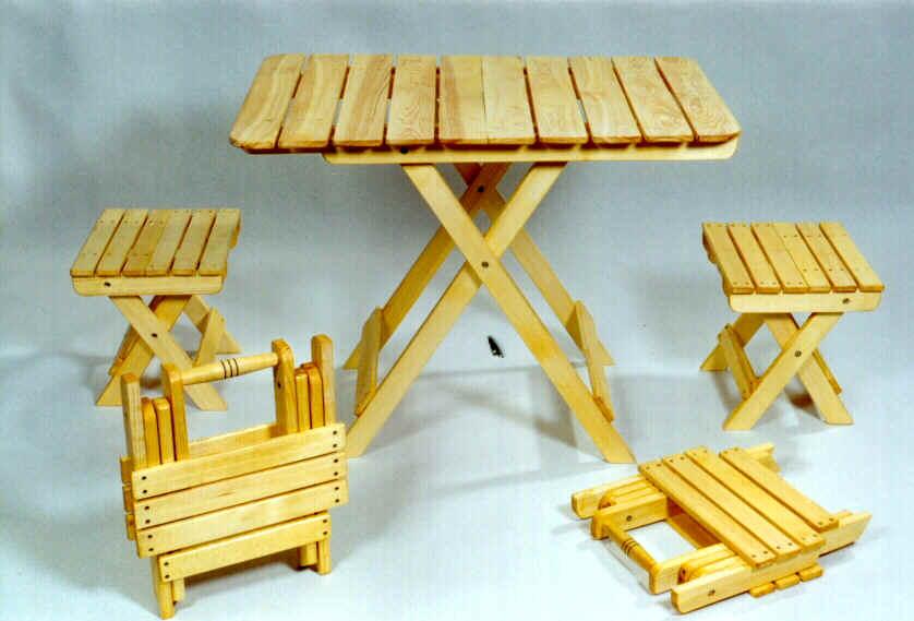 Складная мебель своими руками из дерева