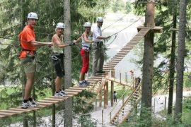 Бизнес идея: Веревочный парк - самый необычный аттракцион