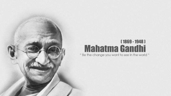 Махатма Ганди: 10 советов об изменении мира