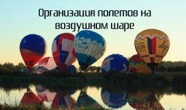 Бизнес-идея: Организация полетов на воздушном шаре