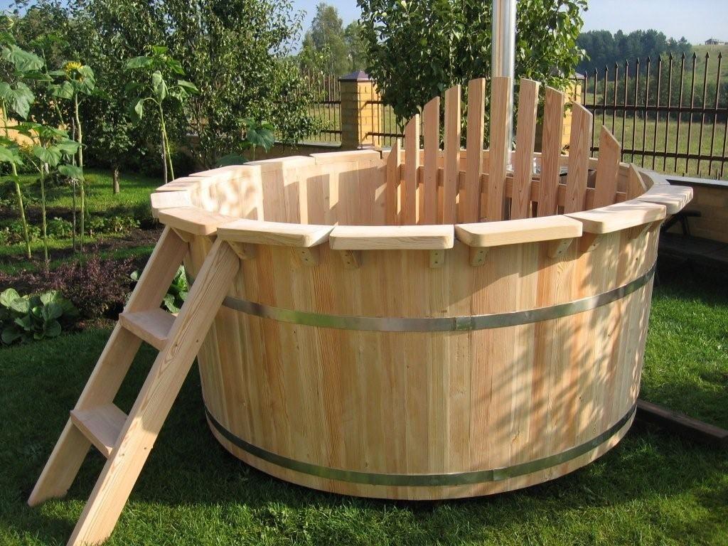 Бочка деревянная для купания
