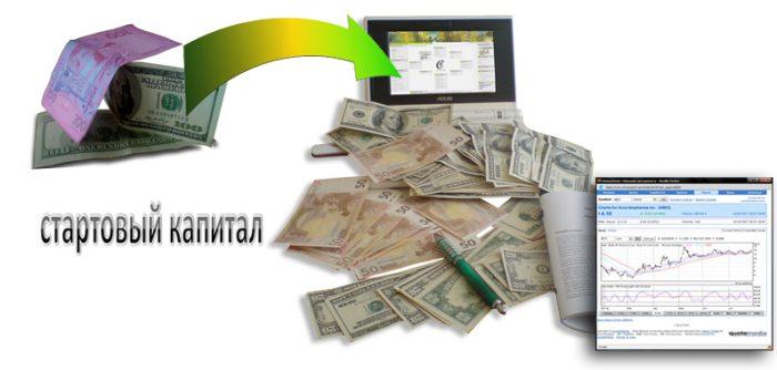 Как заработать стартовый капитал