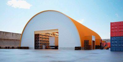 Бизнес-идея: Строительные услуги в зимний период. Возведение арочных ангаров.