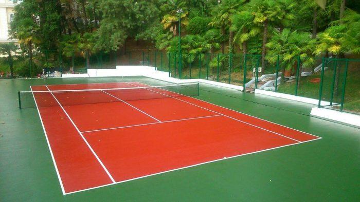 Бизнес идея: Строительство теннисных кортов