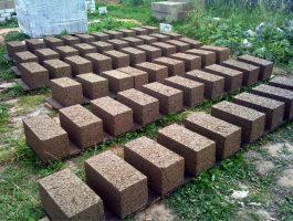 Бизнес идея: изготовление опилкобетонных блоков