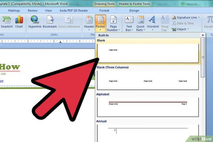 Создание фирменного бланка в Microsoft Word