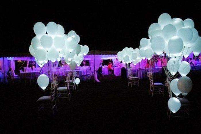 Бизнес идея: Светящиеся воздушные шарики