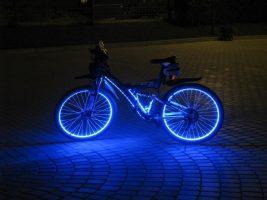Бизнес-идея: производство безопасных светящихся велосипедов