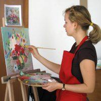 Бизнес идея: Частная студия живописи