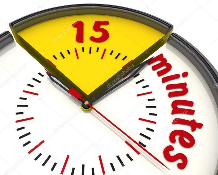 Где взять время на образование: правило 15 минут