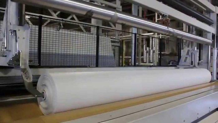 Бизнес-идея: производство геотекстиля