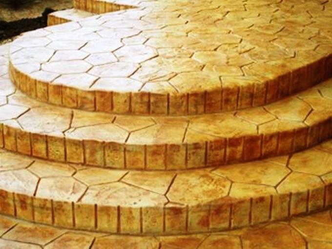 Бизнес-идея: Производство декоративного печатного бетона