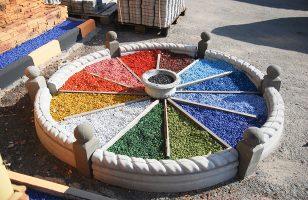 Бизнес идея: Производство цветного щебня