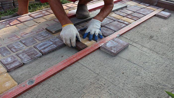 Бизнес идея: Укладка тротуарной плитки