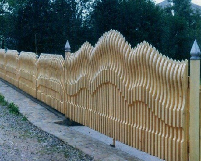 Бизнес-идея: Деревянный забор