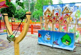 Бизнес идея: Аттракцион большая рогатка ANGRY BIRDS
