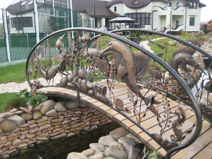 Идея бизнеса: Декоративный садовый мостик