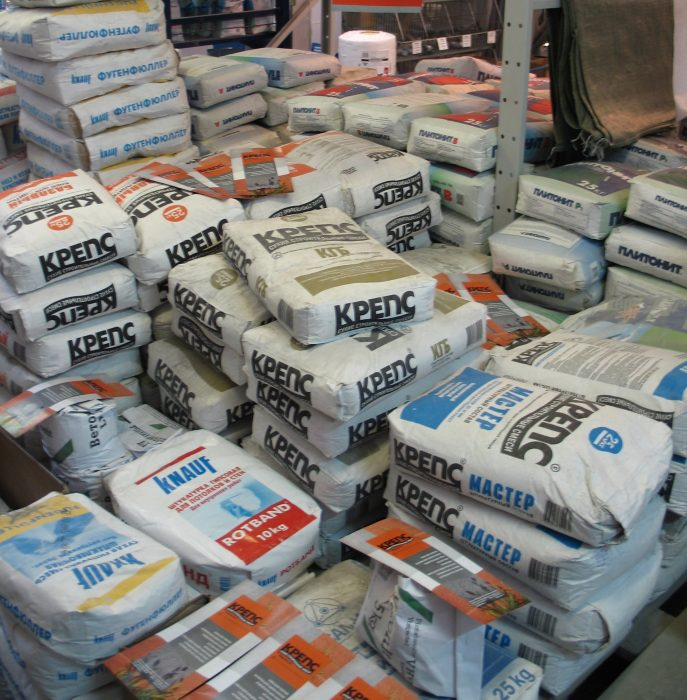 Бизнес-идея: производство сухих строительных смесей