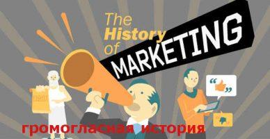 Истории маркетинга