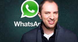 История успеха. Ян Кум и WhatsApp