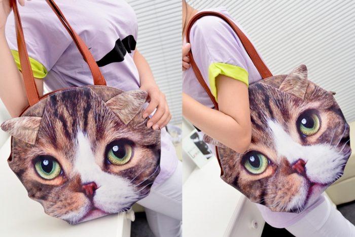 Бизнес идея: Сумки с мордочками кошек и собак