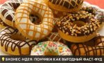 Бизнес-идея: Пончики как выгодный фаст-фуд