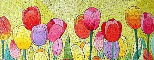 Бизнес идея: Мозаика из яичной скорлупы — прибыльное искусство