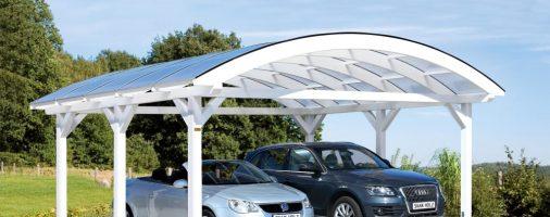 Бизнес-идея: Производство автомобильных навесов из дерева и поликарбоната