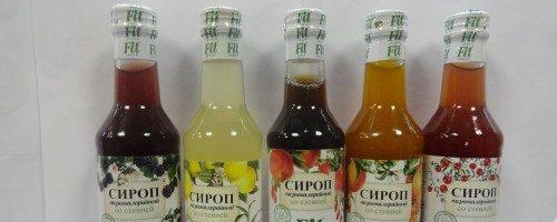 Бизнес-идея: Производство фруктовых сиропов