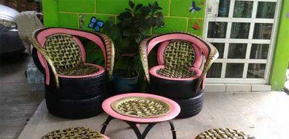 Бизнес-идея: Производство мебели из старых покрышек
