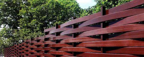 Бизнес-идея: Плетеный забор из досок