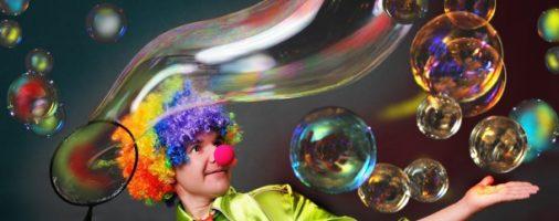 Бизнес-идея: Шоу мыльных пузырей