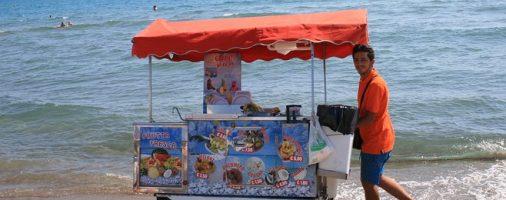 Бизнес идея: на пляже