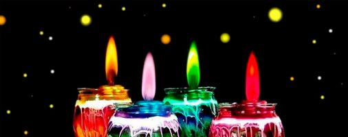 Бизнес-идея: Изготовление свечей с радужным пламенем