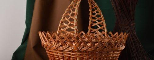 Бизнес-идея: Плетение корзин