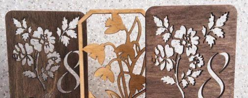 Бизнес-идея: Производство деревянных открыток
