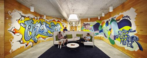Бизнес-идея: Граффити офисов