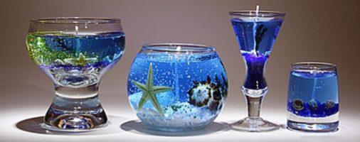 Бизнес-идея: Производство гелевых свечей на дому